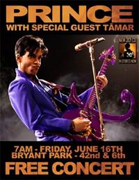 Free Prince concert 16/6//06
