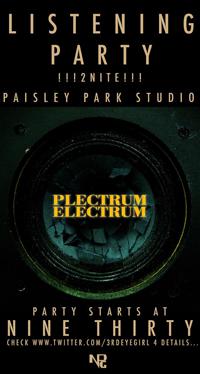 Plectrumelectrum listening party confirms tracklist