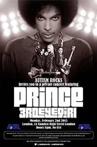 Prince plays surprise charity gig in London's Koko