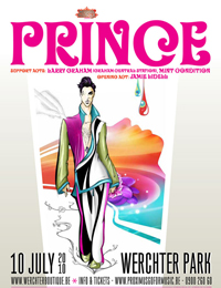 Prince heading to European festival circuit