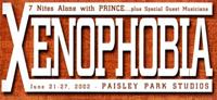 Celebration 2002: Xenophobia
